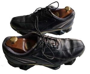 Men's FOOTJOY Vintage XPS-1 Black Leather Golf Shoes UK Size 10.5