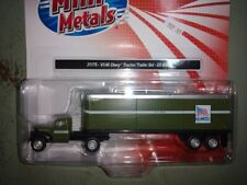 1/87 Classic Metal Works 31178 -'41/'46 Chevy Tractor/Trailer Set  - U.S. Mail