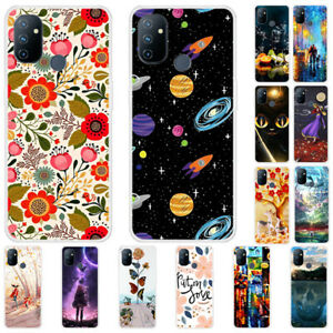 For OnePlus Nord N10 N100 8T Slim Painted Soft Silicone Rubber TPU Case Cover