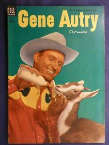 Gene Autry Dell Comic Book July 1953  No.77