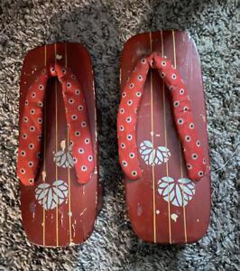 Vintage Geta Sandals Japan Original