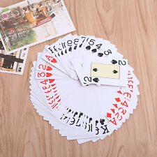 Waterproof 63x88mm Classic Plastic Playing Cards Texas Poker Standard Board Game