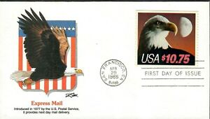 US Sc#2122 FDC Eagle Express Mail Stamp 1985