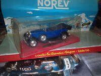 SOLIDO 1/43  FIAT 525 N DE DE 1929 BLUE NEUF EN BOITE