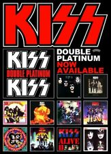 KISS Rock Band Double Platinum Custom Promo Poster STAND-UP DISPLAY Gift