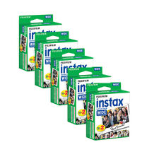 Fujifilm Instax Wide Instant Films for Fuji Instax Wide 210 200 100 300, 5 Pack