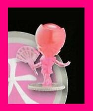 POWER RANGERS SUPER SAMURAI SERIES 2 TRANSPARENT PINK MINI FIGURE - NEW - RARE