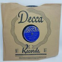 Jimmie Lunceford And His Orchestra – Margie / Like A Ship At Sea  Decca 1617 G