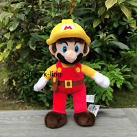 """Super Mario Maker Plush Mario Maker 11"""" Collection Stuffed Toy Game Soft Doll"""