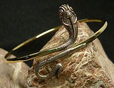 ARMREIF Ober-Armband Schlange Bronze Frauen Mittelalter Kelten Viking Larp ARB19
