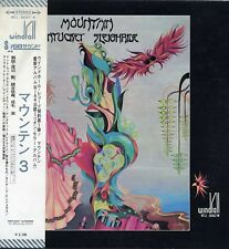 "MOUNTAIN ""NANTUCKET SLEIGHRIDE"" ORIG JAPAN 1971 EX/EX BOOKLETS/OBI"