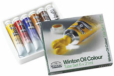 Winsor & Newton Winton Oil Colour - 6 x 21ml Set