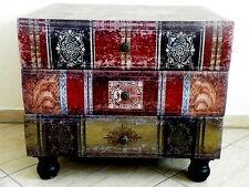Design Kommode Möbel Shabby Vintage Loft Bücherlook Antik-Stil Retro Schrank Neu
