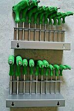 NEU 20 Torx und Innen Sechskant Schraubendreher CrV mit T Griff Steckschlüssel