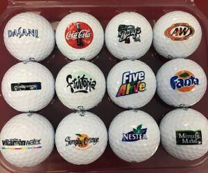 3 Dozen (Coca Cola Collection Logo's) Callaway Super Soft Mint Golf Balls