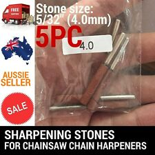 5/32 4.0MM QUALITY SHARPENING STONES FOR CHAINSAW SHARPNER 12V/9.6V OREGON STIHL