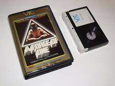 Betamax Video ~ A Force of One ~ Chuck Norris ~ Pre-Cert ~ Video Tape Centre VTC