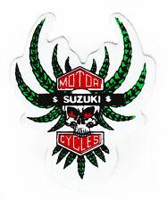 Skull & Tentacles Suzuki Sticker Motorcycles