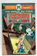 STAR SPANGLED WAR STORIES: THE UNKNOWN SOLDIER #198 (DC Comics) 1976 VG-F