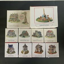 New listing Liberty Falls Village Buildings Americana Collection Music Gazebo Quilt Lot