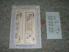 Microscale  decals N 60-409 SPFE 57' outside br. mech. reefers or bl wh let  F86
