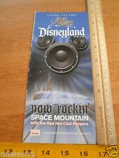 Disneyland Daily activities foldout map 2006 Red Hot Chili Peppers guide