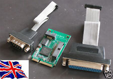 MINI PCIe PCI Express seriale 16C950 + Parallel Card