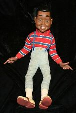 """Vtg Steve Urkle Doll 17"""" TV Character Family Matters Toy Family Matters Black"""
