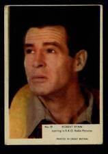 (Gg263-348) Kane, Film Stars, Grey Plain Back, #19 Robert Ryan 1958 VG