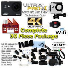 UltraProX Adventure XPERT UHD 4k Wi-Fi Sports Action Waterproof Camera 1080P