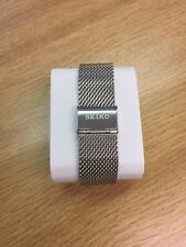 seiko Mesh Shark Strap / Band Stainless Steel Size/width 20mm