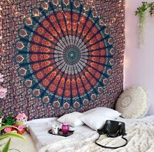 Indian Hippie Mandala Bohemian Psychedelic Handmade 100% Cotton Tapestry