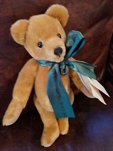 """Deans Rag Book Company 11"""" Fully Jointed bear name Howard #262 Great Britain"""