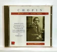 DOMINIQUE MERLET - CHOPIN selected works MANDALA CD STILL SEALED