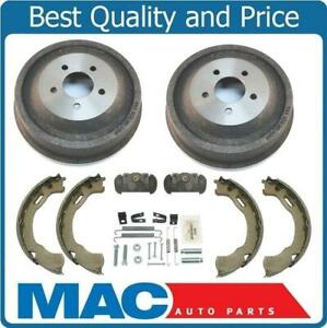 Fits For Ford 01 02 Explorer Sport Trac Brake Drums & Shoes Cylinders 6pc