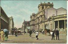 Australia postcard view George Street(showing Treasury and utive Buildings