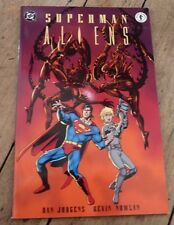 Rare Soft Cover Comic Book DC Superman Aliens ! Dark Horse Comics No.2