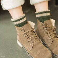 Warm Winter Striped Design Socks Wool Cashmere Hot