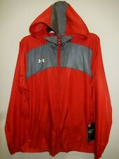 91029-5 Womens UNDER ARMOUR Full Zip Track Jacket 1270885 600 Red $64.99 New