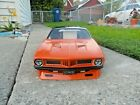 CUSTOM PAINTED RC BODY PRO-LINE BARRACUDA  For the  SLASH, AE DR10, &  LOSI 22S