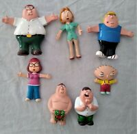 Family Guy Lot of Figures 5 Bendy Types Plus Peter Pooper & Christmas Gift Peter