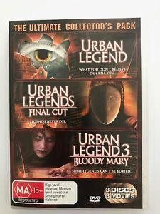 Urban Legend (1998) & Urban Legend 3: Bloody Mary (2005) - 2 x Region 4 DVDs
