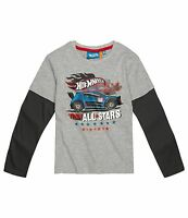 Boys Long Sleeve T-Shirt Top Minions Paw Patrol Pokemon Age 2-12 Cotton Official
