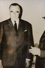 Photo presse vintage AFP 1963 Pompidou Pape Paul VI Giovanni Leone Politique