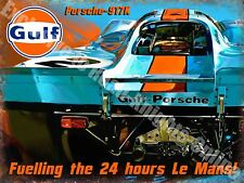 Gulf Porsche 917K Race Car le mans  Fridge Magnet