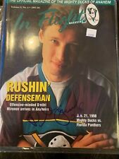 Dimitri Mironov Signed In Flight Magazine 1997-98