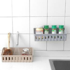 Bathroom Shelf Adhesive Storage Rack Home Kitchen Corner Shower Shelf Rack
