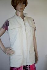 NEW* Women's TRAVELSMITH  STONE  Multi Pocket TRAVEL Vest     M  (msrp$99)