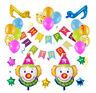Child Birthday Balloons Foil Balloon Birthday Kids Party Toy Pull Decor Flower