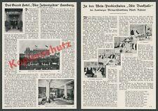 Grand Hotel Vier Jahreszeiten Halle Einrichtung Jugendstil Haerlin Hamburg 1912